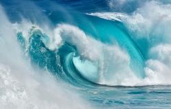 Cuando el océano se convierte en fuego azul